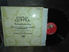 TCHAIKOVSKY: Piano concerto n°1 > Cziffra Vandernoot / EMI CVB France stereo ex