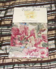 English Florals Pair of Standard Pillowcases NWT Dayton Hudson