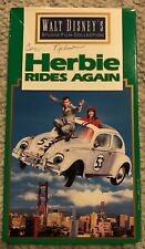 Herbie Rides Again VHS - 1974 - Disney