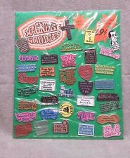 Vintage Store Display Magnetic Goodies Refrigerator Magnets Comedy LOOK