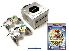 ## Nintendo GameCube GC Konsole silber + 2 Pads + Mario Party 5 ##