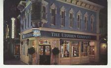 Disney Postcard The Upjohn Company Drugstore - Disneyland California c1970 vtg F