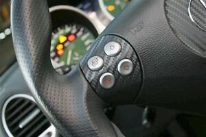 Carbon Set for Steering Wheel Switches - Mercedes Benz SLK R171 Interior Trim