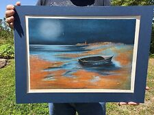 Roberto Righi Lithograph Art Print 175/275 boat Signed Authenticated Nautical