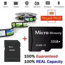 Tarjeta de memoria Micro 32GB clase 10 + UK LIBRE todas para teléfonos cámara