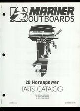 Orig 1979 Mariner 20 HP Outboard Motor/Engine Illustrated Parts List Catalog