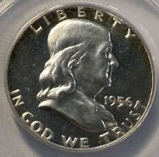 1956 Franklin Silver Proof Half Dollar - PF65 Cameo - ANACS!