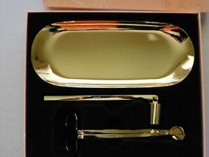 DUSK Gold Candle Care Set