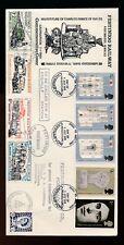 1969 INVESTITURE FDC FESTINIOG RAILWAY ENVELOPE + LETTER STAMPS CAERNARVON