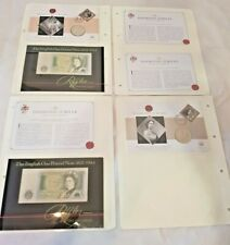 Diamond Jubilee Collection Coin & Note Queen / Raffles / HRH / Royalty / Mint