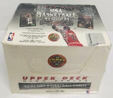 1992-1993 Upper Deck Basketball High Series Factory Sealed Box Shaq/Jordan JUMBO