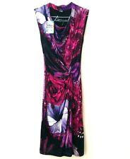 NWT Desigual US Small EU M Dress Uralet Purple Cowl Neck Floral Sleeveless