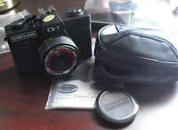 Vintage Cortland CX-7 35mm Camera with Case and Instruction Manual