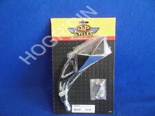Harley Davidson pyramid mirror chopper softail dyna sportster electra glide fxr