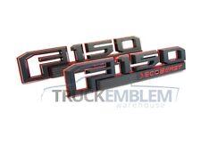 Custom Red/&Black 3D SVT RAPTOR OEM Rear Tailgate Emblem Nameplate for New 150
