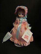 "Madame Alexander 14"" Lucinda Doll #1535 PINK DRESS w/Tag, Box & Accessories"