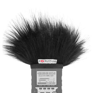 Gutmann Microphone Fur Windscreen Windshield for ZOOM H4n / H4nSP / H4n Pro