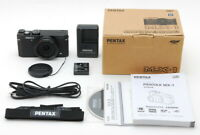 【MINT in Box】 Pentax MX-1 Black 12.0MP Compact Digital Camera from JAPAN #995