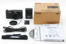 【MINT in Box】 Pentax MX-1 Black 12.0MP Compact Digital Camera from JAPAN #995