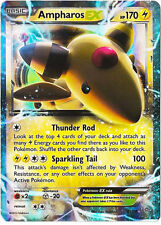 Pokemon Ancient Origins Ampharos-EX - 27/98 - Rare Holo ex