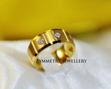 Unisex Wedding & Anniversary Bands with Diamonds