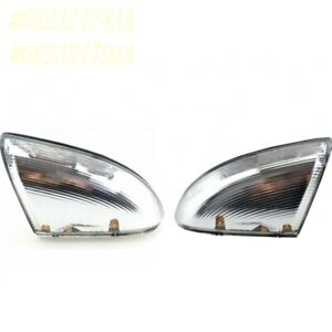FOR 14-18 DODGE RAM 1500 3.0L 5.7L FRONT LEFT & RIGHT MIRROR TURN SIGNAL LAMP