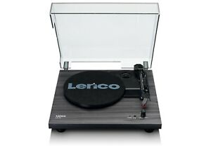 Lenco LS-10 Belt Drive Turntable With Built-In Speakers