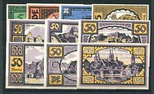 Merseburg 10 x Scheine Notgeld ........................z1662