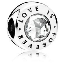 NEW AUTHENTIC PANDORA Love is Forever Charm with Gift Box - USB795000