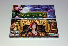 Mysteryville 2 & Pirateville - NEW Hidden Object Windows PC Computer Games