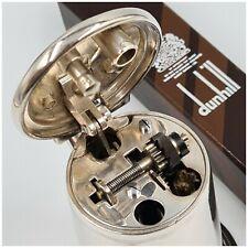 Briquet essence de table DUNHILL TANKARD silver plated-Petrol desk Lighter-打火机