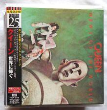 QUEEN NEWS OF THE WORLD LIMITED JAPAN MINI LP CD ed. TOSHIBA EMI Freddie Mercury