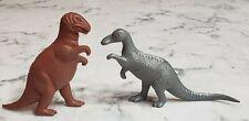"Vintage 1960s Mpc Allosaurus Trachodon Dinosaur 3"" Plastic Figure"