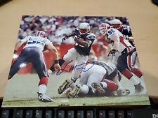 Laurence Maroney Autographed New England Patriots 8x10 Photo