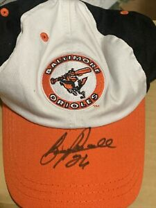 Boog Powell Baltimore Orioles Autograph adjustable Cap Hat New JSA COA