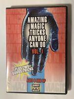 Amazing Magic Tricks Anyone Can Do Vol. 1 New Sealed DVD 2003 kaBOOM