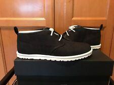 NEW Mens Black Ugg Maksim Canvas Chukka Boots Size 9