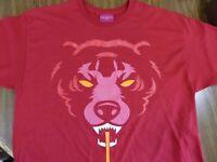 Demon Bear Red T-Shirt SZ XL MISHKA Mnwka