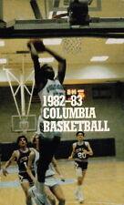 1982-83 COLUMBIA UNIVERSITY LIONS BASKETBALL POCKET SCHEDULE