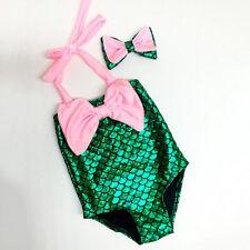 Bebé Infantil SIRENA SIRENA tankini Bikini traje de baño bañador