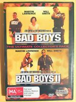Bad Boys / Bad Boys 2 [2 DVD Set] Region 4, BRAND NEW & SEALED, Free Fast Post