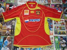 USAP Perpignon France Rugby Jersey Canterbury Shirt Maillot Trico Maglia Pepsi