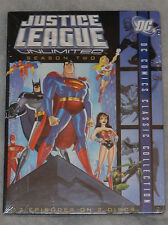 Justice League Unlimited Season Two 2 (Batman & Superman) DVD Box Set NEW SEALED