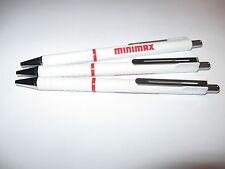 Rotring TIKKY II Kugelschreiber   weiss  (mit Werbung)  3 Stück   SUPER !!
