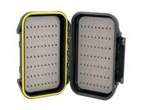 Fly Box Water-Resistant W/ Tear Drop Foam Medium Size-Great Pocket Box  #1205N