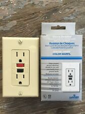 Leviton 6599-I GFCI GFI Ground Fault Circuit Interrupter Receptacle IVORY BNIB