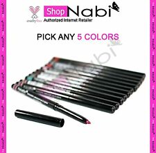 5pcs Nabi Retractable Waterproof Eyeliner & Lipliner (pick 5 color)_cruelty Free