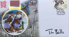 Tim Bailee London 2012 Olympics Rower Signed Buckingham Covers Gold Collection
