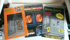 Job Lot of Halloween Party Props Scene Setters Window Wall Decorations Ghost Web