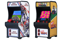 Tiny Arcade Pole Position and Rally X Miniature Arcade Games (2 Items)